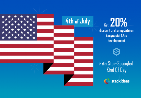 4th of July updates on EasySocial 1.4 and demo site