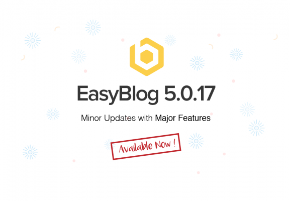 Enhance your site with EasyBlog 5.0.17