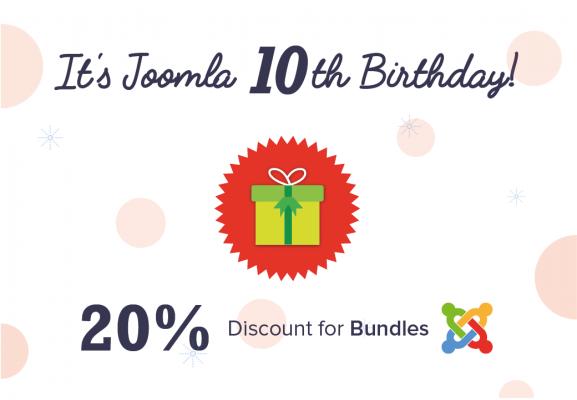 Happy 10th Birthday Joomla!