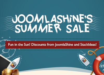 JoomlaShine's Summer Sale Campaign!