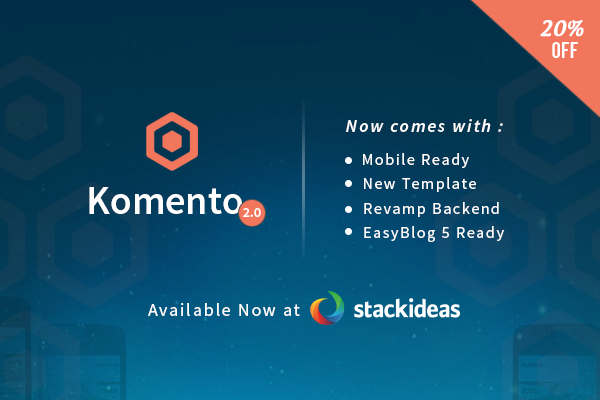 Upgrade Your Commenting System To Komento 2