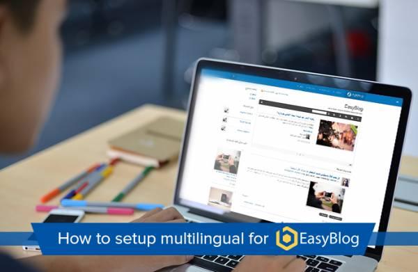 Multilingual for EasyBlog