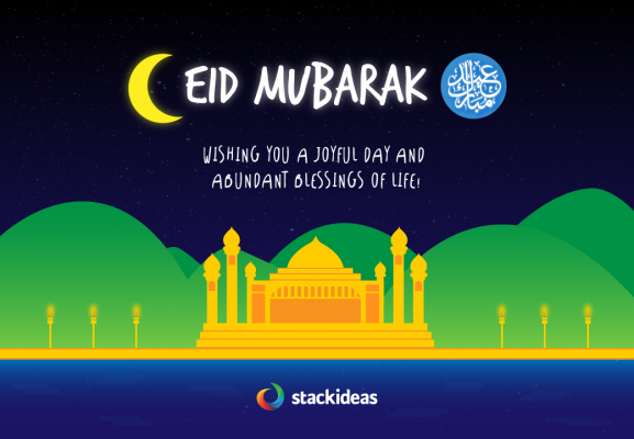 Eid Mubarak from Stack Ideas!