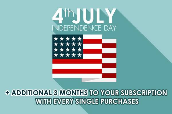 Happy Independence Day (4th of July)