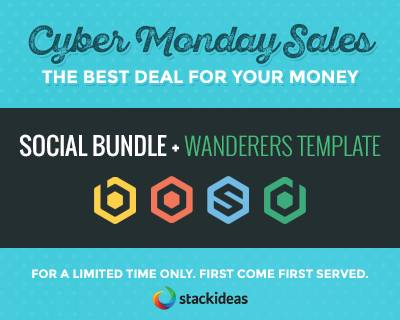 Joomla Biggest Cyber Monday Sales With StackIdeas