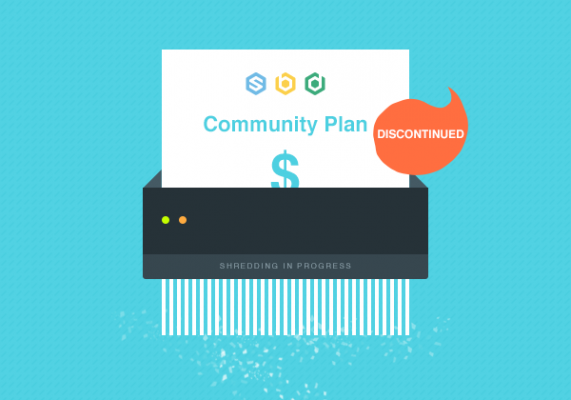 Discontinuation Of All Community or Starter Plans