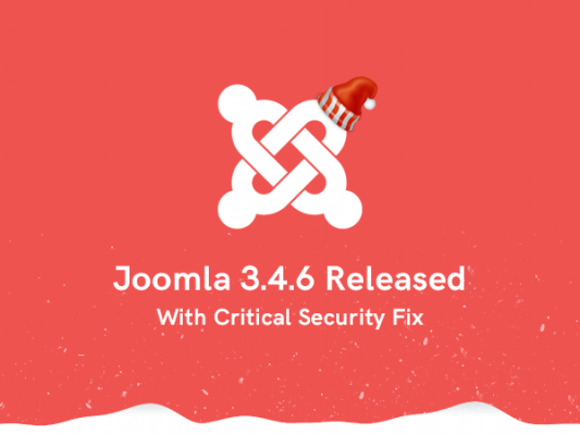 Joomla 3.4.6 Security Update and Stackideas Christmas Sales