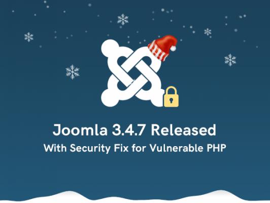 Joomla! 3.4.7 and EasyBlog 5.0.31 Updates