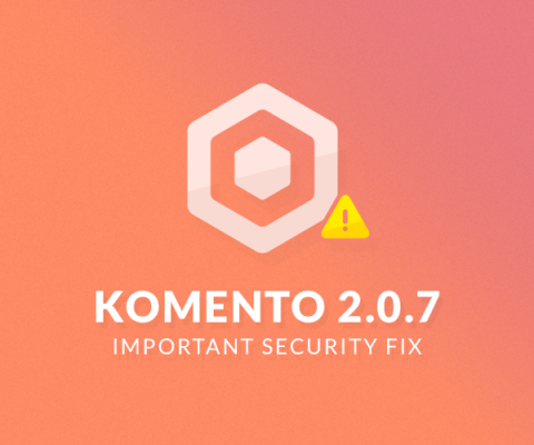 Important Komento 2.0.7 Security Fix