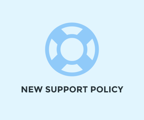 StackIdeas New Support Policy