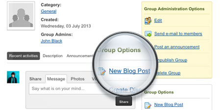jomsocial-easyblog-group-blogging